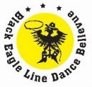 Black eagle line dance